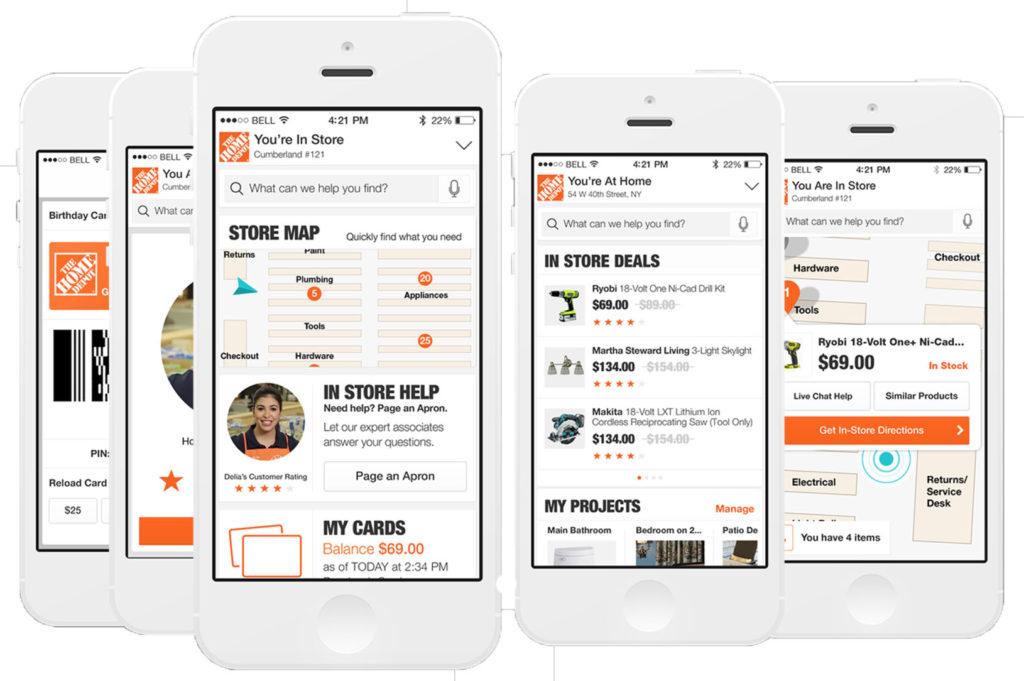 The home depot mobile app smitha barki for The house app